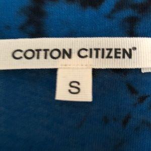 Cotton Citizen Dresses - 🆕 COTTON CITIZEN TIE DYE BLUE BLACK DRESS SZ S